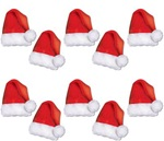 5 inch Mini Santa Hat Cutouts