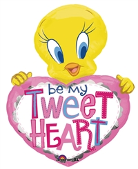 30 inch Tweety Be My Tweetheart Balloon