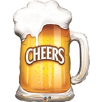 Cheers! Beer Mug Balloon
