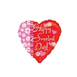 4 inch Sweetest Day Hearts & Flowers