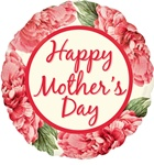 18 inch Happy Mother's Day Pink Floral