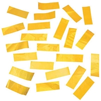 1 Pound Metallic GOLD Foil Confetti