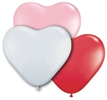 15 inch SWEETHEART ASSORTMENT HEARTS are high quality balloons that balloon decorators rely on year round. Qualatex has all the latest designs and colors and use state of the art materia