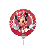 9 inch Mad About Minnie Round Balloon