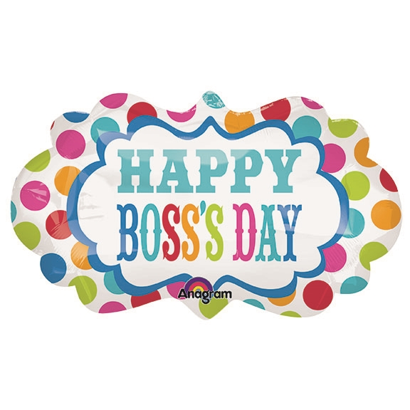 27 inch Boss's Day Dots Marque...