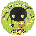 28 inch Gimme Candy Spider Sing-A-Tune