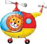Lion Helicopter Pilot Balloon