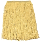 Adult's Deluxe Artificial Grass Hula Skirt Natural