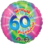 18 inch Happy 60th Birthday