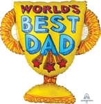 Best Dad Trophy Balloon