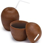 5.25in Coconut Cup with Top