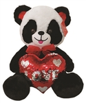 Panda Bear with Love Heart