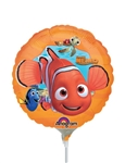 9 inch Disney Finding Nemo Foil Balloon
