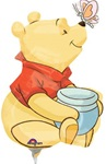 Pooh Full Body Mini Shape Balloon