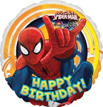 17 inch Ultimate Spider-Man Birthday Balloon