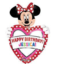 30 inch Minnie Mouse Birthday Super Shape