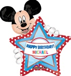 30 inch Mickey Mouse Birthday Super Shape