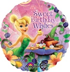 Disney Tinker Bell Birthday Wishes Balloon