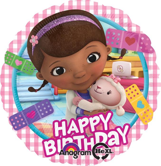 doc mcstuffins birthday 18 inch HX Doc McStuffins Birthday Balloon doc mcstuffins birthday