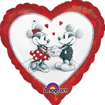 18 inch Disney Mickey & Minnie Love Balloon