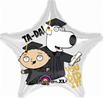 19 inch Family Guy GRADUATION Foil Balloon