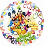 18 inch Mickey & Friends Party Round Balloon