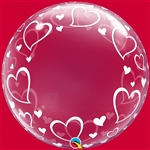 24 inch DECO BUBBLE Stylish Heart