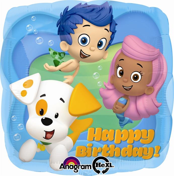 18 inch bubble guppies happy birthday