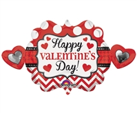 39 inch Happy Valentine's Day Heart Marquee