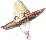 Straw Adult Sombrero