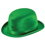 St Patrick's Day Green Felt Derby, Price Per EACH