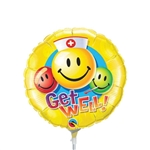 9 inch Get Well Smiley Nurse