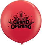 3ft GRAND OPENING RED