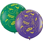3ft Mardi Gras Party-A-Round