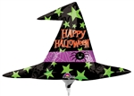 14 inch Halloween Witch Hat Foil Balloon