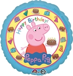18 inch Happy Birthday Peppa Pig