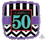 50th Birthday Celebration Balloon