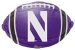18 inch Northwestern University Football Foil Balloon