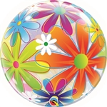 22 inch BUBBLES Fanciful Flowers