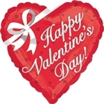 VLP Happy Valentine's Day Bow Foil Balloon