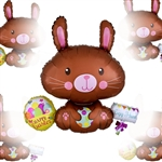 Egg Hunt Easter Bunny Balloon