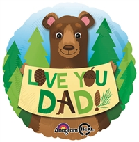 18 inch Love You Dad Bear