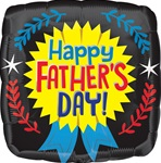 VLP 18 inch Happy Father's Day Yellow Ribbon