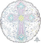 18in Radiant Cross
