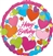 Happy Birthday Hearts Balloon