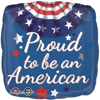 18 inch Proud American Bunting