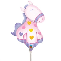 Soft Pony Foil Balloon