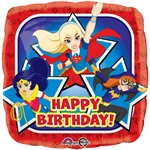 18 inch DC Super Hero Girls Happy Birthday