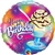 Happy Birthday Ice Cream Sundae Round Foil Balloon