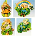 St Patrick's Day Leprechaun Cutouts